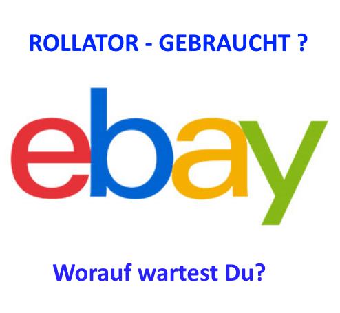 Rollator bei ebay finden